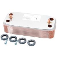 Теплообмінник ГВП Ariston Genus 24, 28, 35 kW, Clas 24, 28 kW арт. 65104333-65104263-65104451