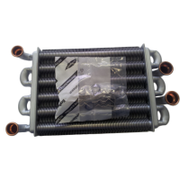 Теплообмінник бітермічний Ariston Egis 24 kW (22см, після 2008р.) арт. 65106300