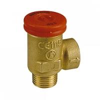 """Запобіжний клапан із зовнішньою різьбою, 1/2"""" X 3,0 bar Giacomini арт. R140SY103"""
