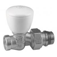 """Прохідний ручний клапан, хромований, з під'єднаннями 1/2"""" X 18 Giacomini арт. R27X034"""