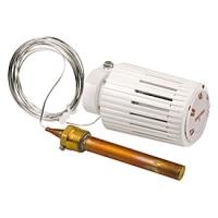 """Термостатична голівка для систем нагрівання підлоги з гільзою і фітингом 1/2"""", 20-70°C, 2 м. Giacomini арт. R462LX021"""