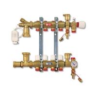 Збірний колектор для систем підлогового опалення на 12 контурів Giacomini арт. R557Y012
