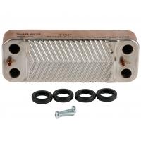 Теплообмінник ГВП 16 пластин Saunier Duval Isofast 35 арт. S1024800
