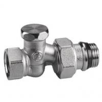 """Прохідний відсічний клапан, хромований з різьбовими з'єднаннями, 1/2"""" Giacomini арт. R17X033"""