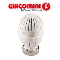 Термостатична голівка з рідинним датчиком, з нарізним фіксатором для спец. клапанів Giacomini арт. R470HX001