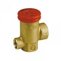 """Запобіжний клапан з внутрішньою різьбою і отвором для підключення манометра, 1/2"""" X 2,5 bar Giacomini арт. R140TY102"""
