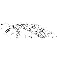 Секція теплообмінника бокова ліва Vaillant atmoCRAFT арт. 295511